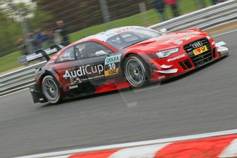 World © Octane Photographic Ltd. German Touring Cars (DTM) Brands Hatch Saturday 18th May 2013. Practice.. Phoenix Racing – Audi RS5 DTM – Miguel Molina. Digital Ref: 0680cb1d4986