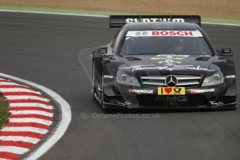 World © Octane Photographic Ltd. German Touring Cars (DTM) Brands Hatch Saturday 18th May 2013. Practice.. HWA Team – DTM AMG Mercedes C-Coupe – Roberto Merhi. Digital Ref: