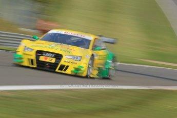 World © Octane Photographic Ltd. German Touring Cars (DTM) Brands Hatch Sunday 19th May 2013. Shakedown lap. Phoenix Racing – Audi RS5 DTM – Mike Rockenfeller. Digital Ref: