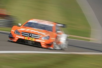 World © Octane Photographic Ltd. German Touring Cars (DTM) Brands Hatch Sunday 19th May 2013. Shakedown lap. HWA Team – DTM AMG Mercedes C-Coupe – Robert Wickens. Digital Ref: