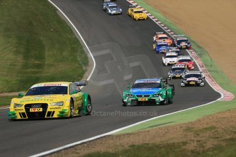 World © Octane Photographic Ltd. German Touring Cars (DTM) Brands Hatch Sunday 19th May 2013. Race. Phoenix Racing – Audi RS5 DTM – Mike Rockenfeller. Digital Ref: 0688cb1d6238