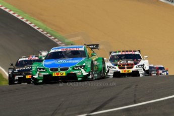 World © Octane Photographic Ltd. German Touring Cars (DTM) Brands Hatch Sunday 19th May 2013. Race. BMW Team RBM – BMW M3 DTM – Augusto Farfus. Digital Ref: 0688ce1d2697
