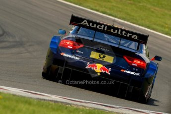 World © Octane Photographic Ltd. German Touring Cars (DTM) Brands Hatch Sunday 19th May 2013. Race. Abt Sportsline – Audi RS5 DTM – Mattias Ekstrom. Digital Ref: 0688ce1d2810