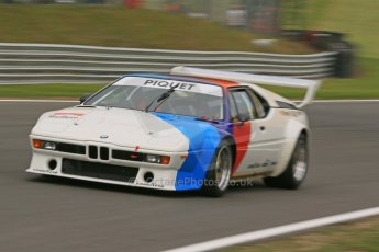 World © Octane Photographic Ltd. German Touring Cars (DTM) Brands Hatch Sunday 19th May 2013. Taxi Rides. Ex-Nelson Piquet BMW M1. Digital Ref: 0686cb1d5854