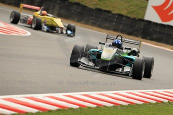 World © Octane Photographic Ltd. FIA European F3 Championship. Friday 17th May 2013. Fortec Motorsports – Dallara F312 Mercedes – Josh Hill and Double R Racing – Dallara F313 Mercedes – Sean Gelael. Digital Ref :