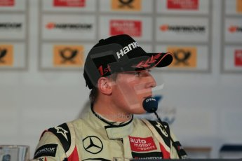 World © Octane Photographic Ltd. FIA European F3 Championship. Friday 17th May 2013 post race conference. Prema Powerteam – Dallara F312 Mercedes – Alex Lynn. Digital Ref : 0682cb1d5108