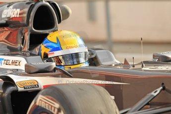 World © Octane Photographic Ltd. Formula 1 Winter testing, Barcelona – Circuit de Catalunya, 19th February 2013. Sauber C32, Esteban Gutierrez. Digital Ref: 0576cb7d8159
