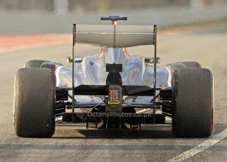 World © Octane Photographic Ltd. Formula 1 Winter testing, Barcelona – Circuit de Catalunya, 19th February 2013. Sauber C32, Esteban Gutierrez. Digital Ref: 0576cb7d8169