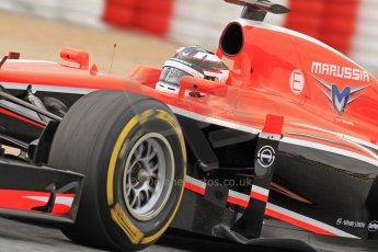 World © Octane Photographic Ltd. Formula 1 Winter testing, Barcelona – Circuit de Catalunya, 19th February 2013. Marussia MR02, Max Chilton. Digital Ref: 0576cb7d8209
