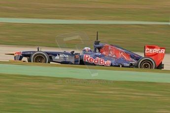 World © Octane Photographic Ltd. Formula 1 Winter testing, Barcelona – Circuit de Catalunya, 19th February 2013. Toro Rosso STR8, Daniel Ricciardo. Digital Ref: 0576cb7d8220