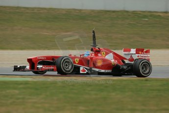 World © Octane Photographic Ltd. Formula 1 Winter testing, Barcelona – Circuit de Catalunya, 19th February 2013. Ferrari F138 – Fernando Alonso. Digital Ref: 0576lw1d1423