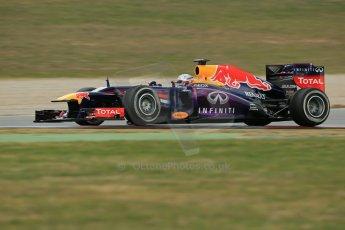 World © Octane Photographic Ltd. Formula 1 Winter testing, Barcelona – Circuit de Catalunya, 19th February 2013. Infiniti Red Bull Racing RB9. Sebastian Vettel. Digital Ref: 0576lw1d1512