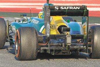World © Octane Photographic Ltd. Formula 1 Winter testing, Barcelona – Circuit de Catalunya, 20th February 2013. Caterham CT03, Charles Pic. Digital Ref: