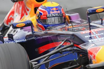 World © Octane Photographic Ltd. Formula 1 Winter testing, Barcelona – Circuit de Catalunya, 21st February 2013. Infiniti Red Bull Racing RB9, Mark Webber. Digital Ref: 0578cb7d8900