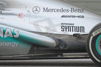 World © Octane Photographic Ltd. Formula 1 Winter testing, Barcelona – Circuit de Catalunya, 21st February 2013. Mercedes AMG Petronas F1 W04, Nico Rosberg. Digital Ref: 0578cb7d9067
