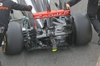 World © Octane Photographic Ltd. Formula 1 Winter testing, Barcelona – Circuit de Catalunya, 21st February 2013. Vodafone McLaren Mercedes MP4/28, Jenson Button. Digital Ref: 0578lw1d3042