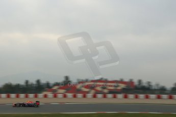 World © Octane Photographic Ltd. Formula 1 Winter testing, Barcelona – Circuit de Catalunya, 21st February 2013. Infiniti Red Bull Racing RB9, Mark Webber. Digital Ref: 0578lw1d3567