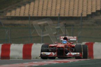 World © Octane Photographic Ltd. Formula 1 Winter testing, Barcelona – Circuit de Catalunya, 21st February 2013. Ferrari F138 - Fernando Alonso. Digital Ref: 0578lw1d3660