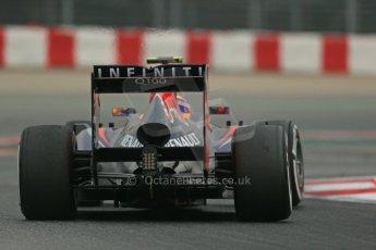 World © Octane Photographic Ltd. Formula 1 Winter testing, Barcelona – Circuit de Catalunya, 21st February 2013. Infiniti Red Bull Racing RB9, Mark Webber. Digital Ref: 0578lw1d3866