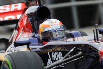 World © Octane Photographic Ltd. Formula 1 Winter testing, Barcelona – Circuit de Catalunya, 22nd February 2013. Toro Rosso STR8, Jean-Eric Vergne. Digital Ref: 0579cb7d9285
