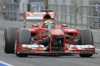 World © Octane Photographic Ltd. Formula 1 Winter testing, Barcelona – Circuit de Catalunya, 22nd February 2013. Ferrari F138 – Felipe Massa. Digital Ref: 0579cb7d9288