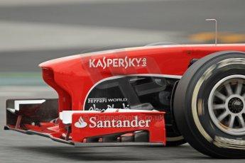 World © Octane Photographic Ltd. Formula 1 Winter testing, Barcelona – Circuit de Catalunya, 22nd February 2013. Ferrari F138 – Felipe Massa. Digital Ref: 0579cb7d9446