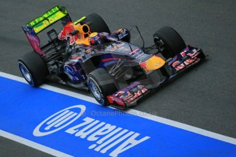 World © Octane Photographic Ltd. Formula 1 Winter testing, Barcelona – Circuit de Catalunya, 22nd February 2013. Infiniti Red Bull Racing RB9, Mark Webber. Digital Ref: 0579lw1d4077