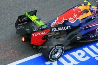 World © Octane Photographic Ltd. Formula 1 Winter testing, Barcelona – Circuit de Catalunya, 22nd February 2013. Infiniti Red Bull Racing RB9, Mark Webber. Digital Ref: 0579lw1d4087