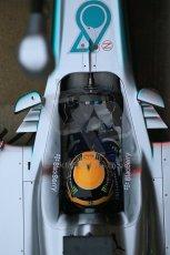 World © Octane Photographic Ltd. Formula 1 Winter testing, Barcelona – Circuit de Catalunya, 22nd February 2013. Mercedes AMG Petronas F1 W04, Lewis Hamilton. Digital Ref: 0579lw1d4285