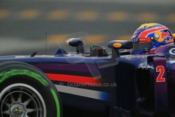 World © Octane Photographic Ltd. Formula 1 Winter testing, Barcelona – Circuit de Catalunya, 22nd February 2013. Infiniti Red Bull Racing RB9, Mark Webber. Digital Ref: 0579lw1d4793