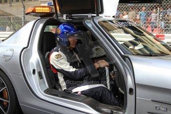 World © Octane Photographic Ltd. F1 Monaco - Monte Carlo - Pitlane. F1 Mercedes SLS AMG safety Car. Friday 24th May 2013. Digital Ref : 0695cb7d1670