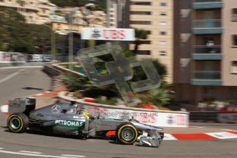 World © Octane Photographic Ltd. F1 Monaco GP, Monte Carlo - Saturday 25th May - Practice 3. Mercedes AMG Petronas F1 W04 - Nico Rosberg. Digital Ref : 0707lw7d8348