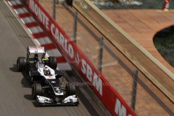 World © Octane Photographic Ltd. F1 Monaco GP, Monte Carlo - Saturday 25th May - Practice 3. Williams FW35 - Valtteri Bottas. Digital Ref : 0707lw7d8495