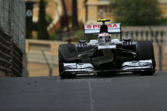 World © Octane Photographic Ltd. F1 Monaco GP, Monte Carlo - Saturday 25th May - Qualifying. Williams FW35 - Valtteri Bottas. Digital Ref : 0708lw1d0013