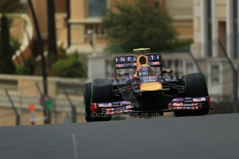 World © Octane Photographic Ltd. F1 Monaco GP, Monte Carlo - Saturday 25th May - Qualifying. Infiniti Red Bull Racing RB9 - Mark Webber. Digital Ref : 0708lw1d9877