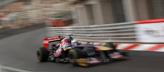 World © Octane Photographic Ltd. F1 Monaco GP, Monte Carlo - Saturday 25th May - Qualifying. Scuderia Toro Rosso STR8 - Jean-Eric Vergne. Digital Ref : 0708lw7d8548