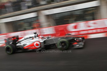 World © Octane Photographic Ltd. F1 Monaco GP, Monte Carlo - Saturday 25th May - Qualifying. Vodafone McLaren Mercedes MP4/28 - Jenson Button. Digital Ref : 0708lw7d8672