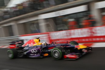 World © Octane Photographic Ltd. F1 Monaco GP, Monte Carlo - Saturday 25th May - Qualifying. Infiniti Red Bull Racing RB9 - Sebastian Vettel. Digital Ref : 0708lw7d8727