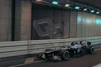 World © 2013 Octane Photographic Ltd. F1 Monaco GP, Monte Carlo -Thursday 23rd May 2013 - Practice 1. Williams FW35 - Valterri Bottas. Digital Ref : 0692lw1d6763