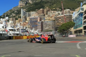 World © 2013 Octane Photographic Ltd. F1 Monaco GP, Monte Carlo -Thursday 23rd May 2013 - Practice 1. Toro Rosso - Daniel Ricciardo. Digital Ref : 0692lw1d7041