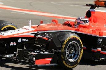World © 2013 Octane Photographic Ltd. F1 Monaco GP, Monte Carlo -Thursday 23rd May 2013 - Practice 1. Marussia F1 Team MR02 - Jules Bianchi. Digital Ref : 0692lw1d7144