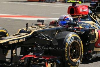 World © 2013 Octane Photographic Ltd. F1 Monaco GP, Monte Carlo -Thursday 23rd May 2013 - Practice 1. Lotus F1 Team - E21- Romain Grosjean. Digital Ref : 0692lw1d7220