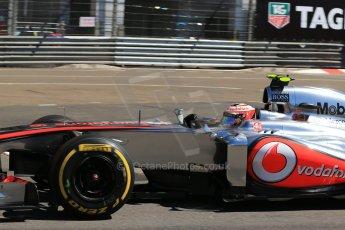 World © 2013 Octane Photographic Ltd. F1 Monaco GP, Monte Carlo - Thursday 23rd May 2013 - Practice 1. Vodafone McLaren Mercedes MP4/28 - Jenson Button. Digital Ref : 0692lw1d7285