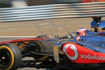World © 2013 Octane Photographic Ltd. F1 Monaco GP, Monte Carlo - Thursday 23rd May 2013 - Practice 1. Vodafone McLaren Mercedes MP4/28 - Jenson Button. Digital Ref : 0692lw1d7308