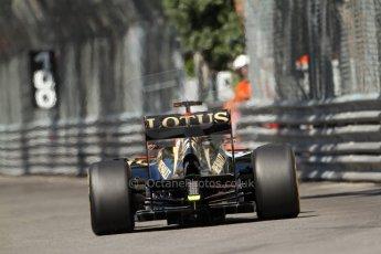 World © 2013 Octane Photographic Ltd. F1 Monaco GP, Monte Carlo -Thursday 23rd May 2013 - Practice 1. Lotus F1 Team E21- Kimi Raikkonen. Digital Ref : 0692lw7d0536