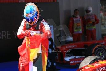 World © 2013 Octane Photographic Ltd. F1 Spanish GP, Circuit de Catalunya - Sunday 12th May 2013 - Race. Scuderia Ferrari F138 - Fernando Alonso. Digital Ref : 0674cb1d2862