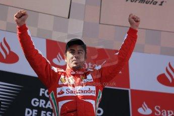 World © 2013 Octane Photographic Ltd. F1 Spanish GP, Circuit de Catalunya - Sunday 12th May 2013 - Race. Scuderia Ferrari - Fernando Alonso. Digital Ref : 0674cb1d2904