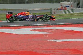 World © Octane Photographic Ltd. F1 Spanish GP, Circuit de Catalunya, Friday 10th May 2013. Practice 1. Infiniti Red Bull Racing - Sebastian Vettel. Digital Ref : 0659cb1d8957