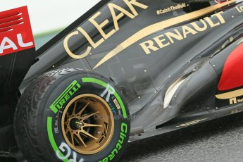 World © Octane Photographic Ltd. F1 Spanish GP, Circuit de Catalunya, Friday 10th May 2013. Practice 1. Romain Grosjean - Lotus. Digital Ref : 0659cb1d9231