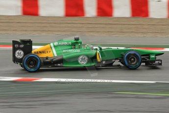 World © Octane Photographic Ltd. F1 Spanish GP, Circuit de Catalunya, Friday 10th May 2013. Practice 1. Caterham CT03 - Heikki Kovalainen. Digital Ref : 0659cb7d8803